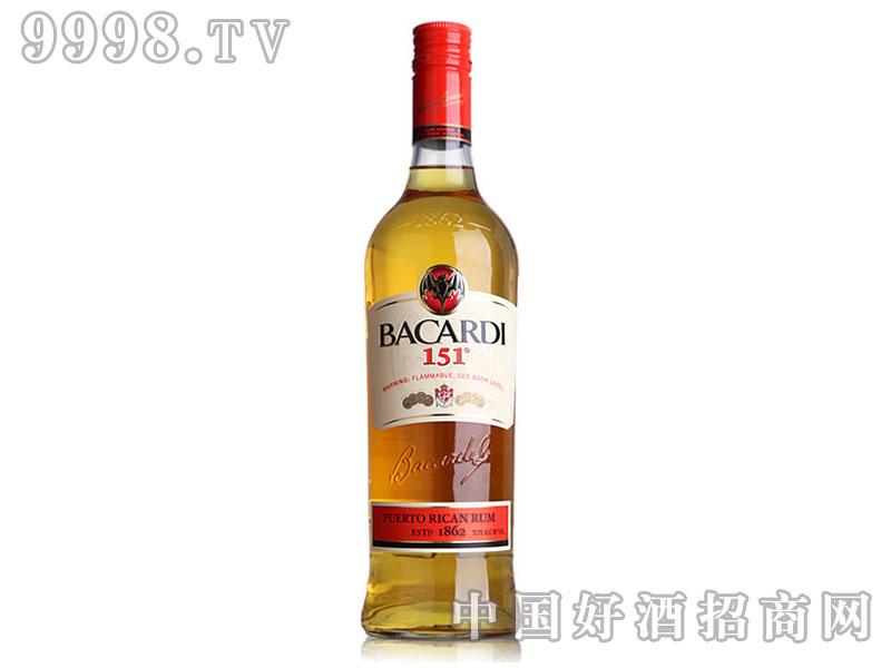 百加得151朗姆酒-750ml