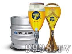 七箭扎啤-酒桶、酒泡