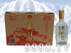 藏佳纯青稞酒500mlx4