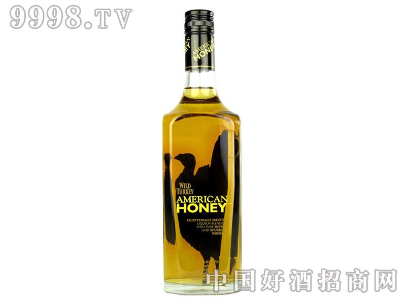 威凤凰美国甜心蜂蜜波本威士忌750ml
