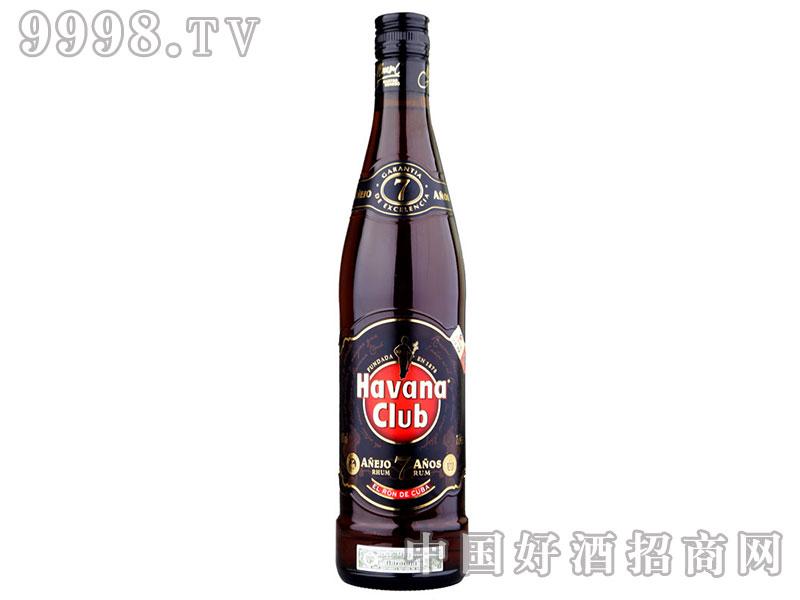 哈瓦纳俱乐部7年朗姆酒-750ML