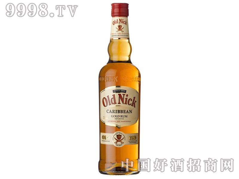 Old-Nick-老尼克金朗姆酒