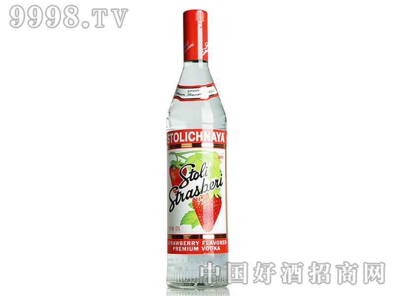 苏连红草莓伏特加酒750ml