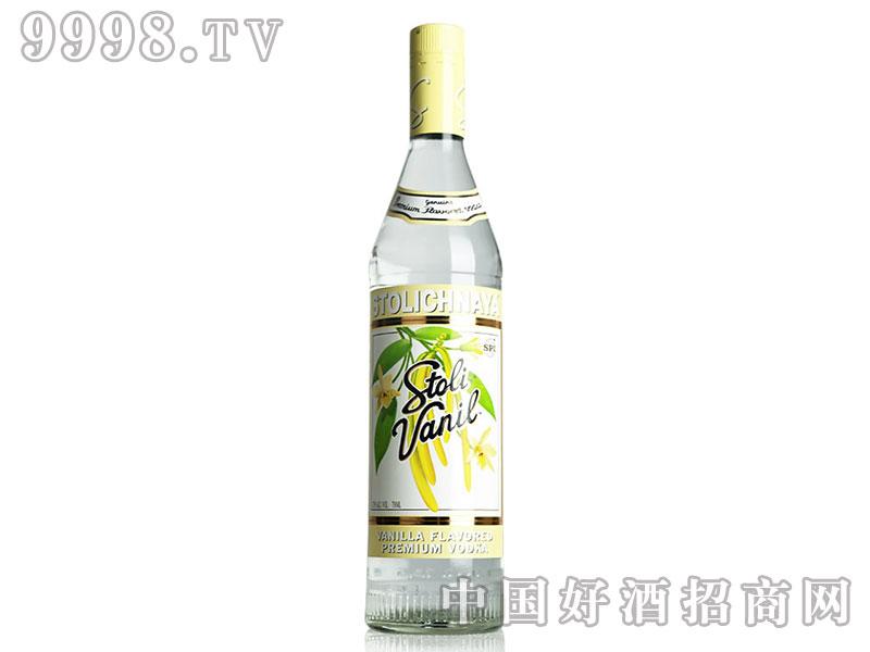 苏连红香草味伏特加酒750ml