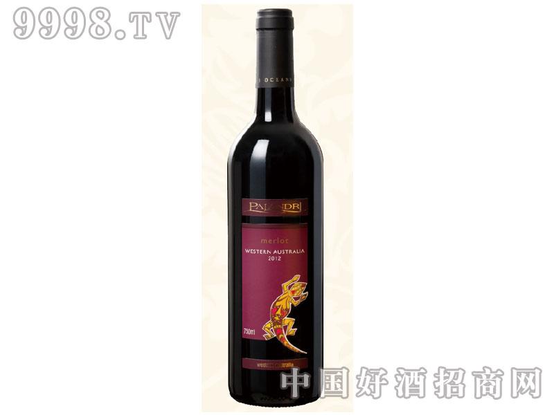 壁虎-美乐干红葡萄酒