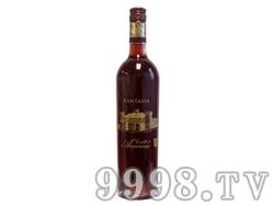 爱之堡幻想曲桃红葡萄酒
