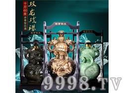 五粮坊酒-双龙戏珠-五斤60度