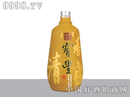 胜利玻璃瓶宝丰酒SL641-500ml