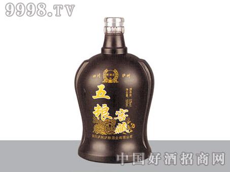 胜利玻璃瓶五粮窖藏SL600-500ml