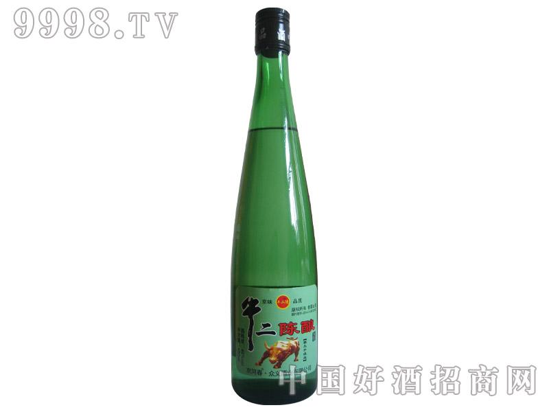 牛二陈酿酒新品480ml
