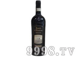 斜塔布鲁纳罗蒙塔奇努红葡萄酒