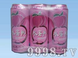 青瑞啤酒蜜桃风味500ml