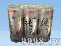 蓝锐纯生啤酒
