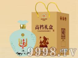 益金苦荞酒高档礼盒(蓝)