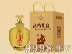益金苦荞酒高档礼盒(金)
