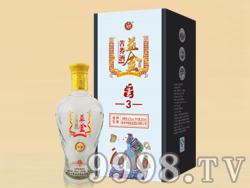 益金苦荞酒礼盒-金3
