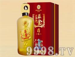 益金苦荞酒礼盒-金6