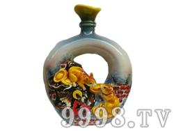 贵州茅台镇特产-酱香型白酒53度十二生肖典藏(鼠)