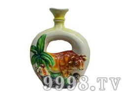 贵州特产-茅台镇酱香型白酒私人订制十二生肖(牛)