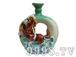 满城香 贵州特产53度酱香型白酒私人订制十二生肖(马)