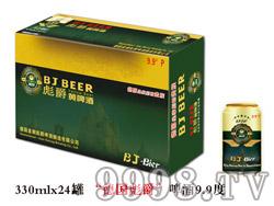 """""""德国彪爵""""啤酒9.9度330ml×24罐"""