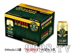 """""""德国彪爵""""啤酒9.9度500ml×12罐"""