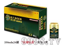 """""""德国彪爵""""啤酒13度330ml×24罐"""