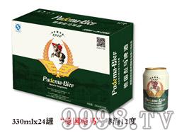 """""""德国彪马""""啤酒12度330ml×24罐"""