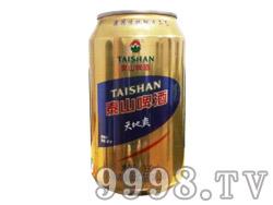 泰山啤酒天地爽(蓝标)