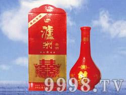 京宏泸州喜酒500ml