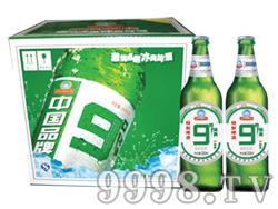 崂金泉9°啤酒箱装500ml×12瓶