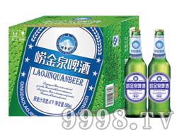 崂金泉啤酒箱装500ml×12瓶