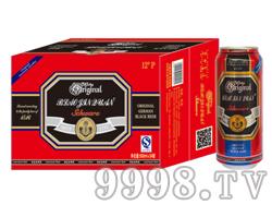 崂金泉啤酒12°(金卡包装)