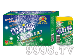 雪柠檬果味饮料