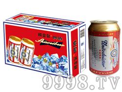 崂金泉啤酒8°(新包装)