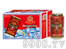 崂金泉啤酒10°(新包装)