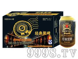 崂金泉经典黑啤