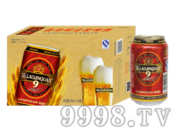 崂金泉啤酒10°(小麦)
