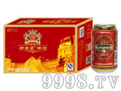 崂金泉啤酒10°(红箱)