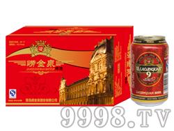 崂金泉啤酒10°(红)