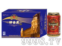 崂金泉啤酒10°(蓝)