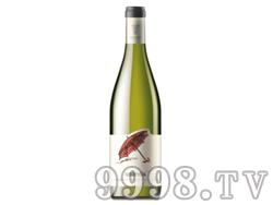 保加利亚原瓶进口雨伞长相思-霞多丽干白葡萄酒餐酒