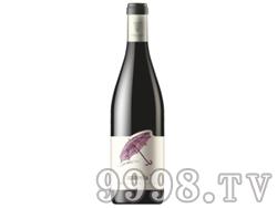 保加利亚原瓶进口雨伞赤霞珠品丽珠干红葡萄酒餐酒