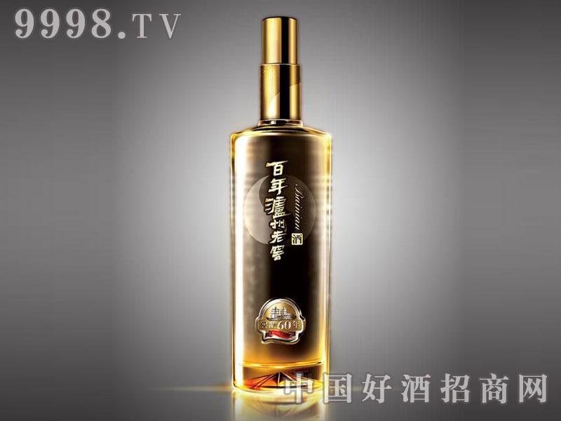 儒诚渐变工艺酒瓶・百年泸州老窖60