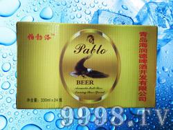 帕勃洛啤酒330ml×24瓶黄标