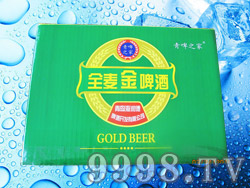 青啤之家金麦金啤酒8度500ml×12罐(箱)