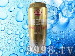 青客隆小麦王啤酒500ml