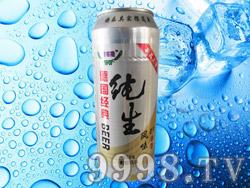 青客隆纯生风味啤酒8°P