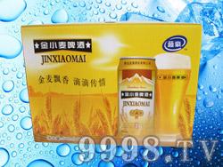 蓝豪金小麦啤酒500ml×12罐