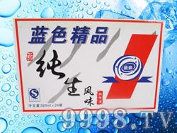 蓝豪纯生风味熟啤酒320ml×24罐